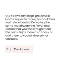 Dardimans California, Strawberry Crisps