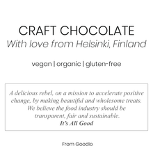 Goodio Craft Chocolate, Coconut