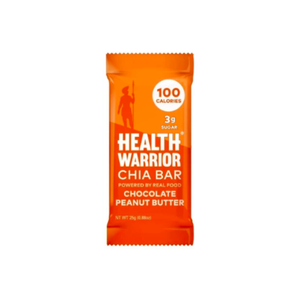 Health Warrior Chia Bar, Chocolate Peanut Butter