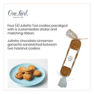 One Girl Cookies, Juliette Tea Cookies