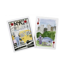 Over The Moon, NYC Playing Cards