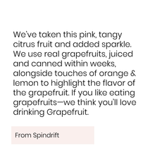 Spindrift, Grapefruit (2x)