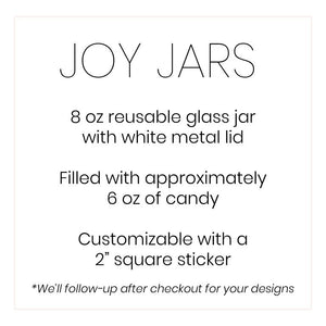 Joy Jars, 12 Flavor Gummy Bears
