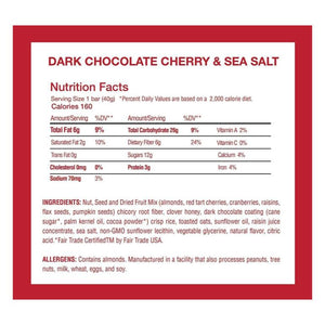 This Bar Saves Lives, Dark Chocolate & Cherry