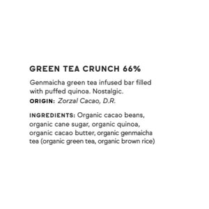 Raaka, Green Tea Crunch