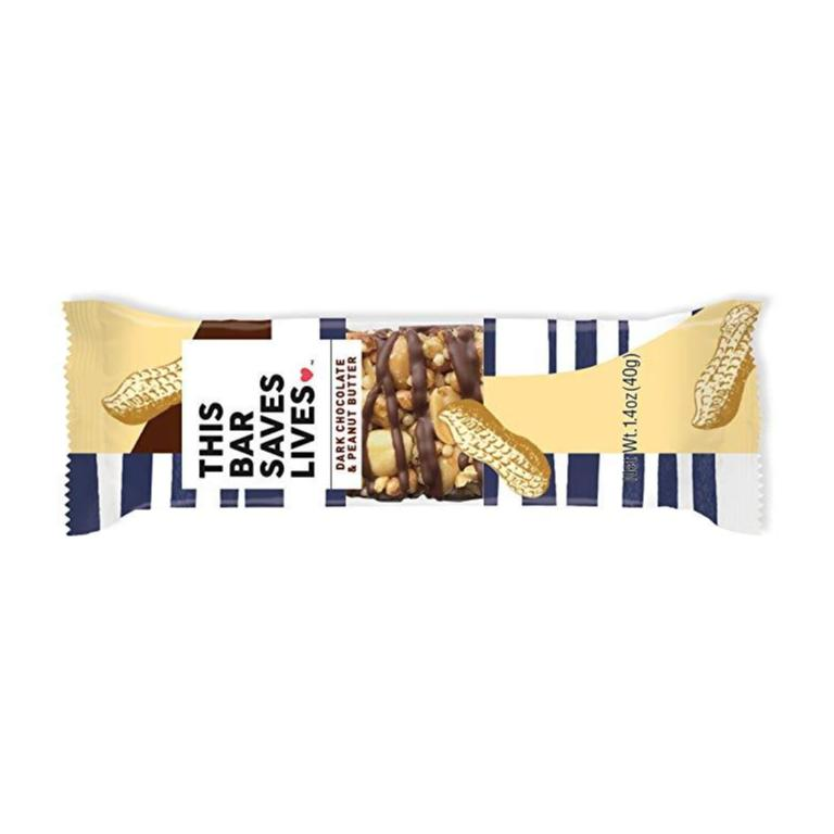 This Bar Saves Lives, Dark Chocolate Peanut Butter & Sea Salt