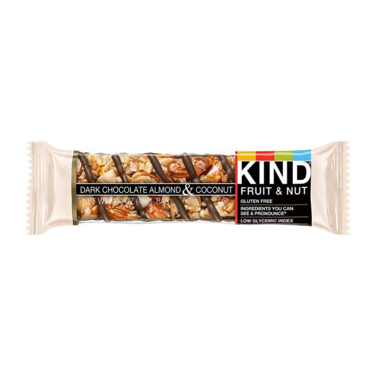 KIND, Dark Chocolate Almond Coconut