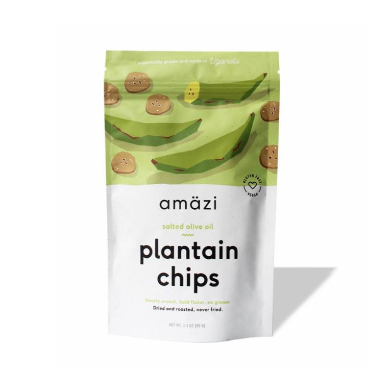 Amazi, Salted Olive Oil Plantain Chips