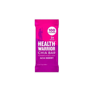 Health Warrior Chia Bar, Acai Berry