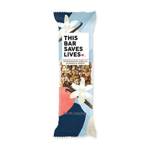 This Bar Saves Lives, Madagascar Vanilla Almond & Honey