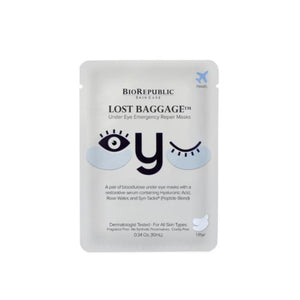 BioRepublic, Lost Baggage Under Eye Emergency Repair Mask (2x)
