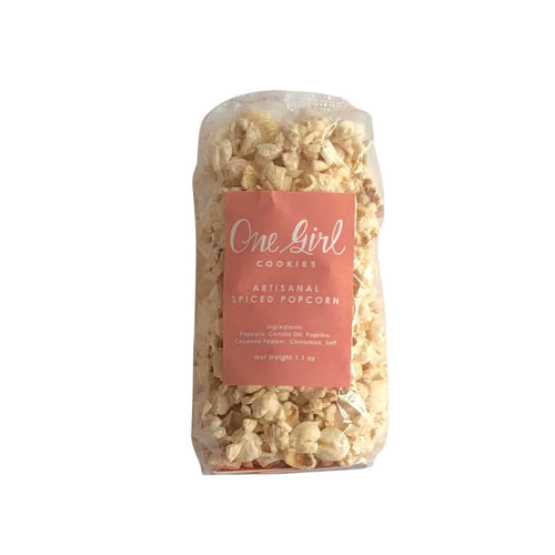 One Girl Cookies, Artisanal Spiced Popcorn