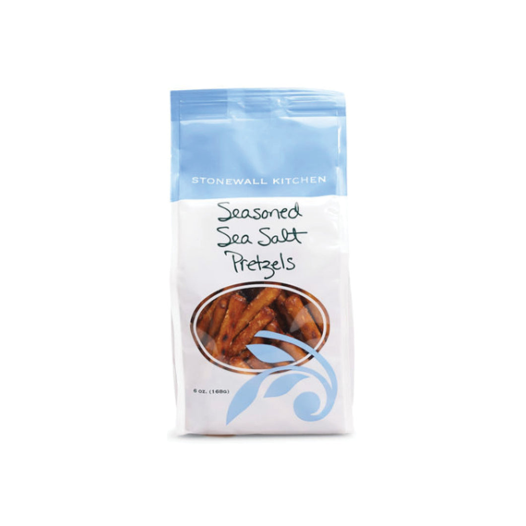 Seasoned Sea Salt Dipping Pretzels, Stonewall Kitchen