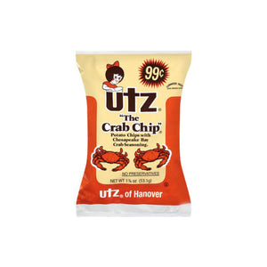 Utz, Crab Chips