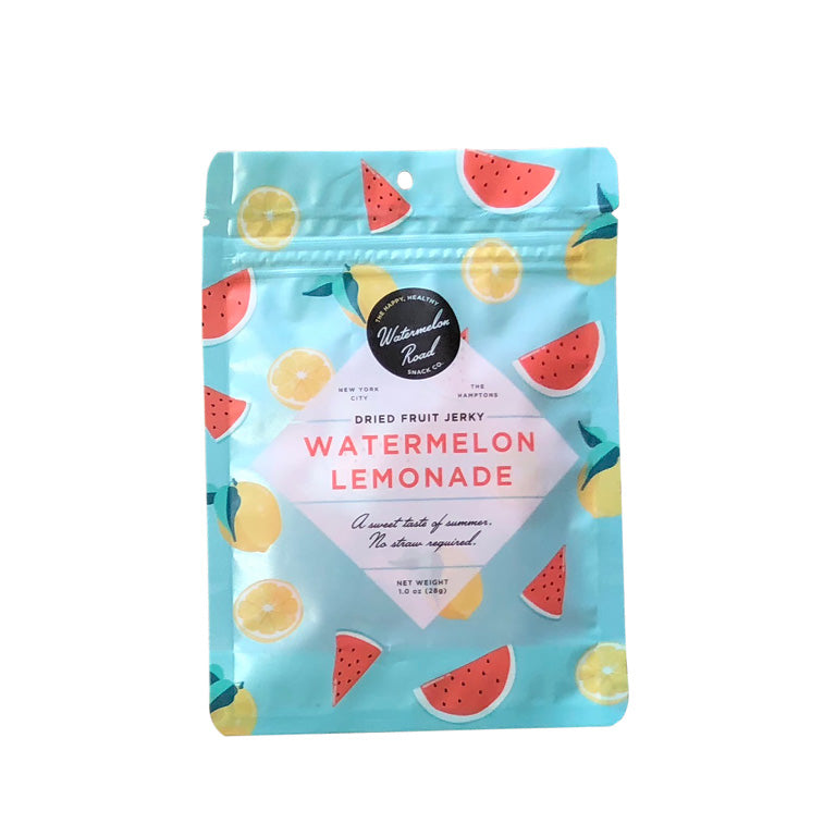 Watermelon Road, Dried Fruit Jerky Watermelon Lemonade