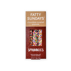 Fatty Sundays Pretzels, Sprinkles