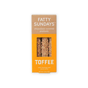 Fatty Sundays Pretzels, Toffee