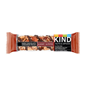 KIND, Dark Chocolate Cinnamon Pecan,