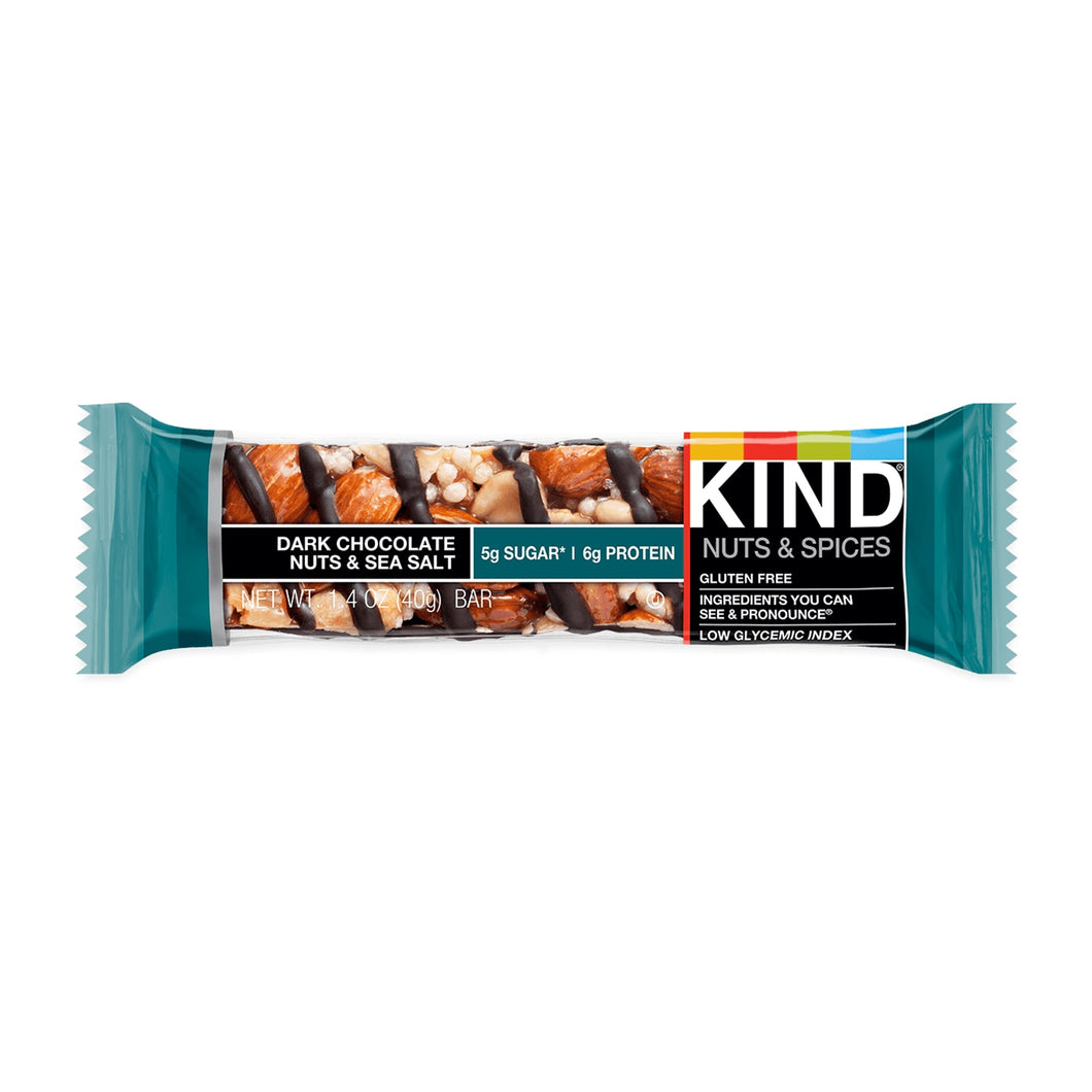 KIND, Dark Chocolate Nuts & Sea Salt