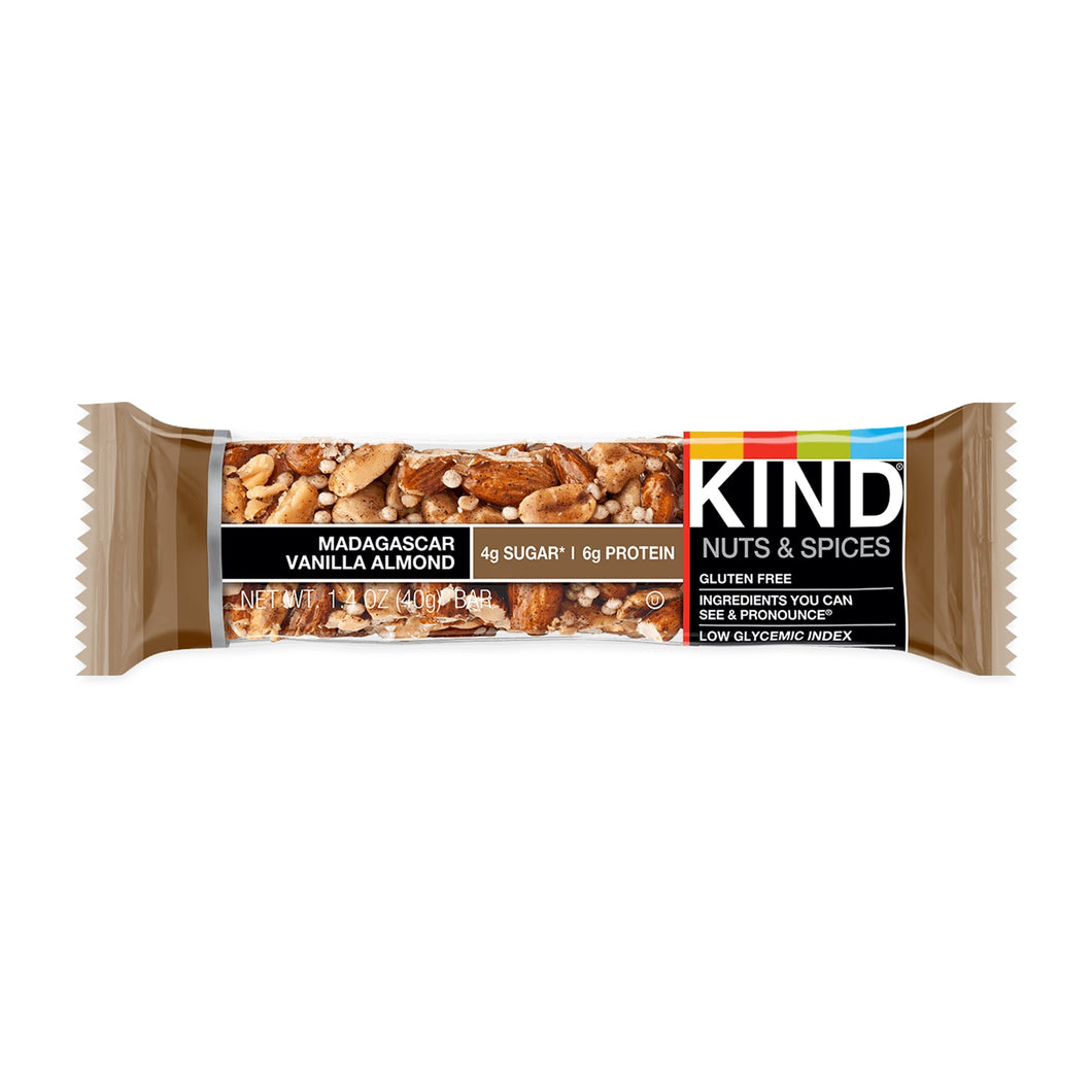 KIND, Madagascar Vanilla Almond