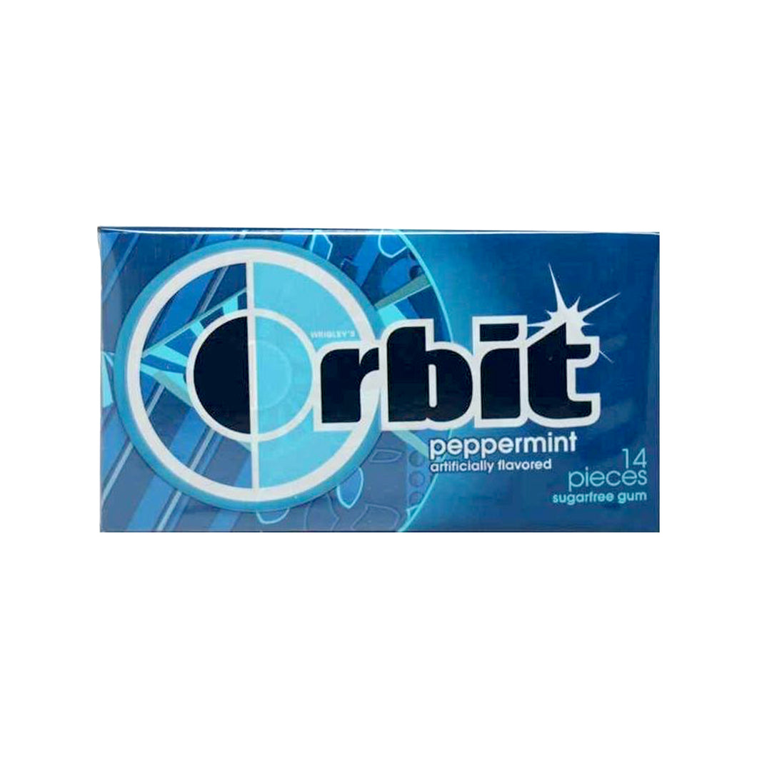 Orbit Peppermint Gum, Sugar Free