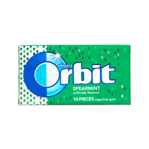 Orbit Spearmint Gum, Sugar Free