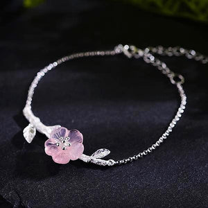 Flower in the Rain Bracelet - LUSTROUSOLOGY