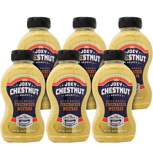 Spicy Brown Firecracker Mustard 6-Pack Case
