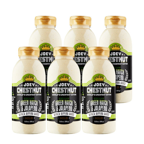 Creamy Green Hatch & Jalapeno Wing & Dipping Sauce 6-Pack Case