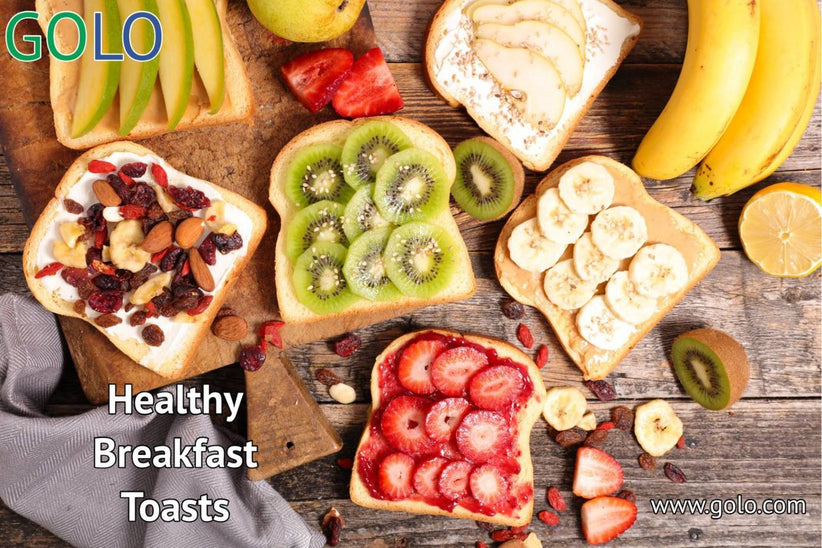 Healthy Breakfast Toasts