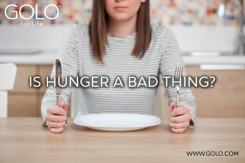Is Hunger a Bad Thing ?