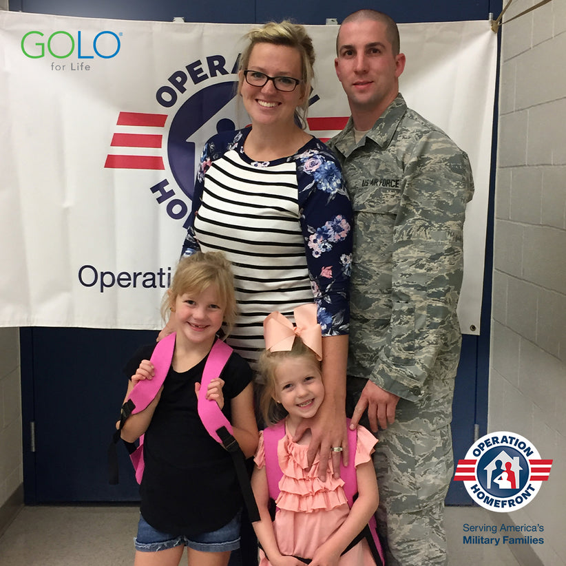 Golo Partners With Operation Homefront To Support Health And Wellness Initiatives For Military Families