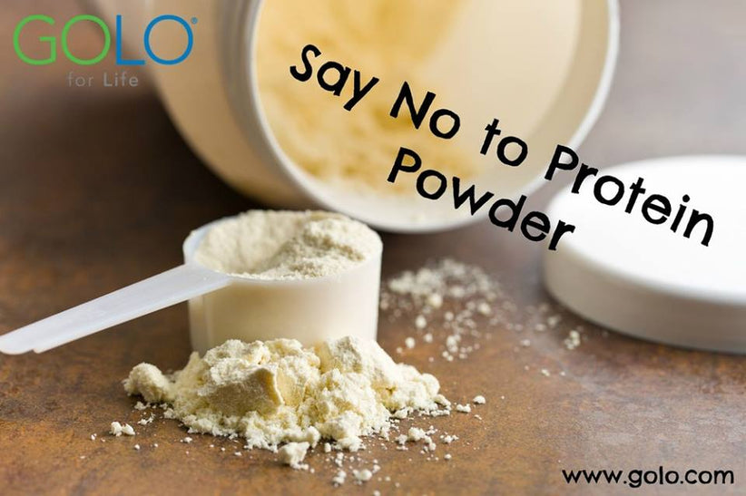 Say No to Protein Powder