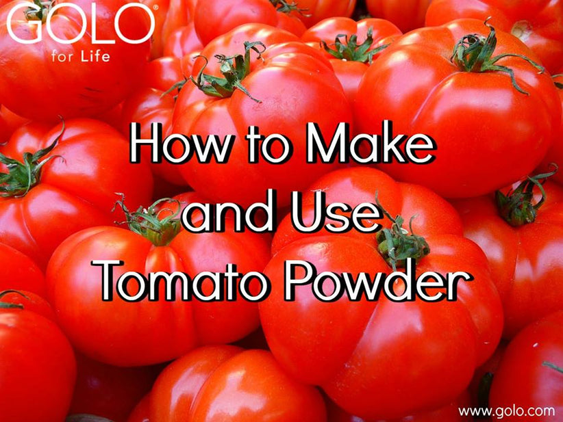 How to Make and Use Tomato Powder