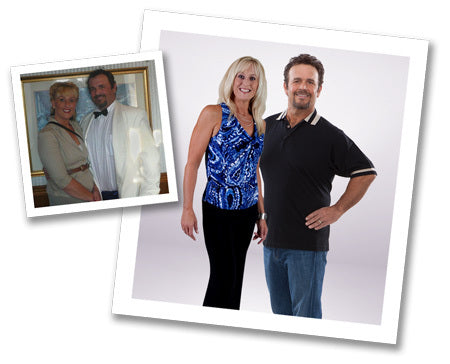Suzette and Reeves together lost 76 lbs. with GOLO