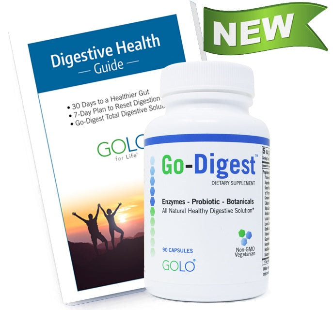 go digest booklet and bottle products, image
