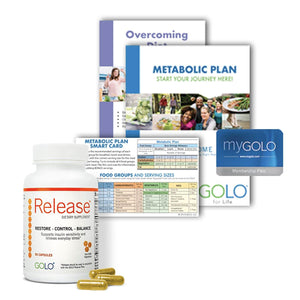 GOLO for Life Plan w/FREE Overcoming Diet Obstacles (Walmart)