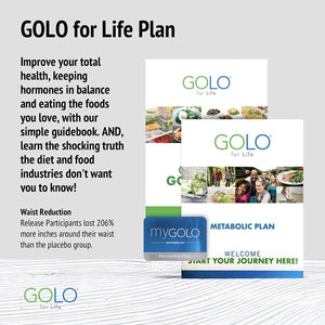 GOLO for Life Plan w/FREE Overcoming Diet Obstacles (Ebay)