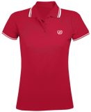 "Polo ""CASUAL RED/WHITE WOMEN"""