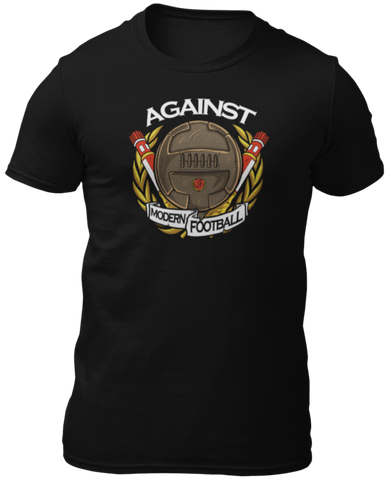 "T-Shirt ""AIGAINST MODERN FOOTBALL"""