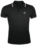 "Polo ""CASUAL BLACK/WHITE MEN"""