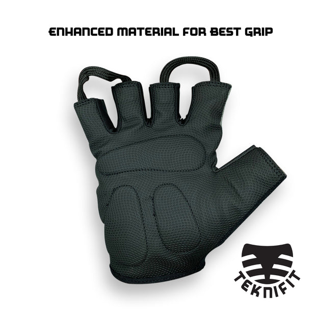 Teknifit Padded Weight Lifting Glove / Cycling Glove, With Enhanced Cushion Grip Technology