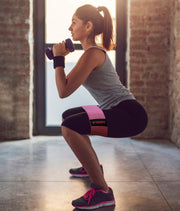girl doing squat with Teknifit  Booty Builder - Teknifit - teknifit.store
