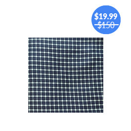 Nautical Plaid Futon Cover