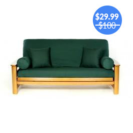 Green Futon Cover