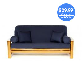 Navy Blue Futon Cover