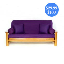 Purple Futon Cover