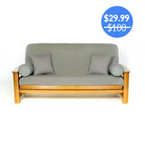 Smoke Gray Futon Cover