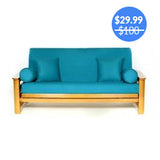 Teal Futon Cover