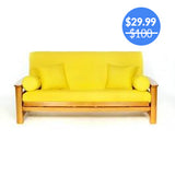 Yellow Futon Cover